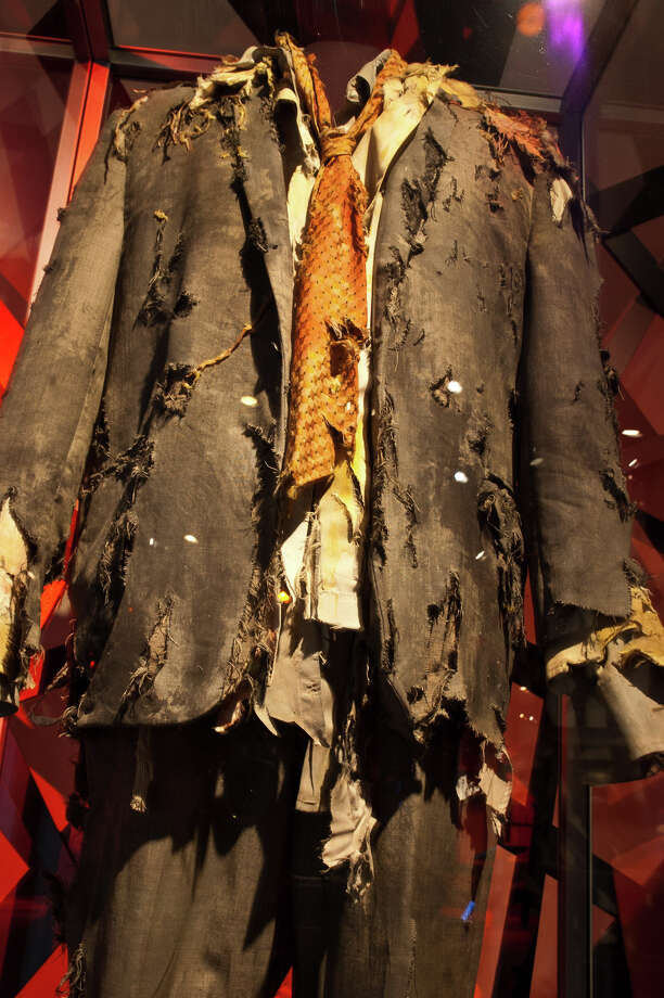 "A zombie costume worn by Mick Garris in Michael Jackson's ""Thriller."" Courtesy of Mick and Cynthia Garris. Photo: Photo Courtesy Of EMP"