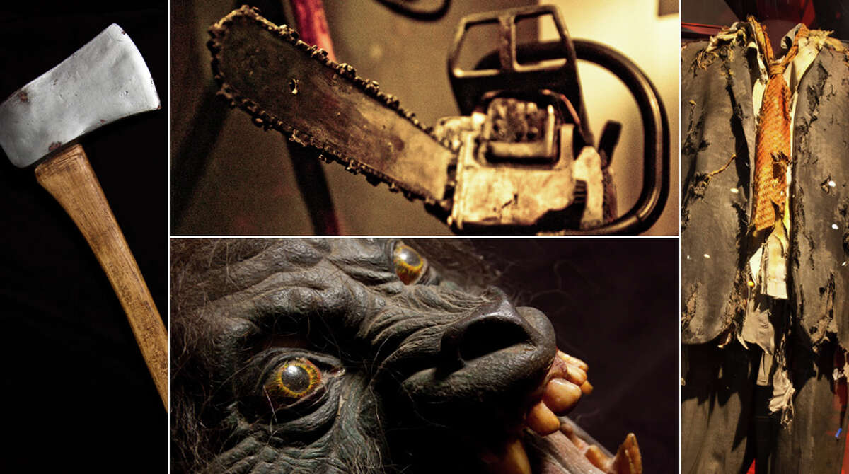 With Halloween on the horizon, Seattle's Experience Music Project is offering a look at some of the items left behind by Hollywood's most terrifying films. Fright flicks take center stage in the Seattle Center museum's exhibit,