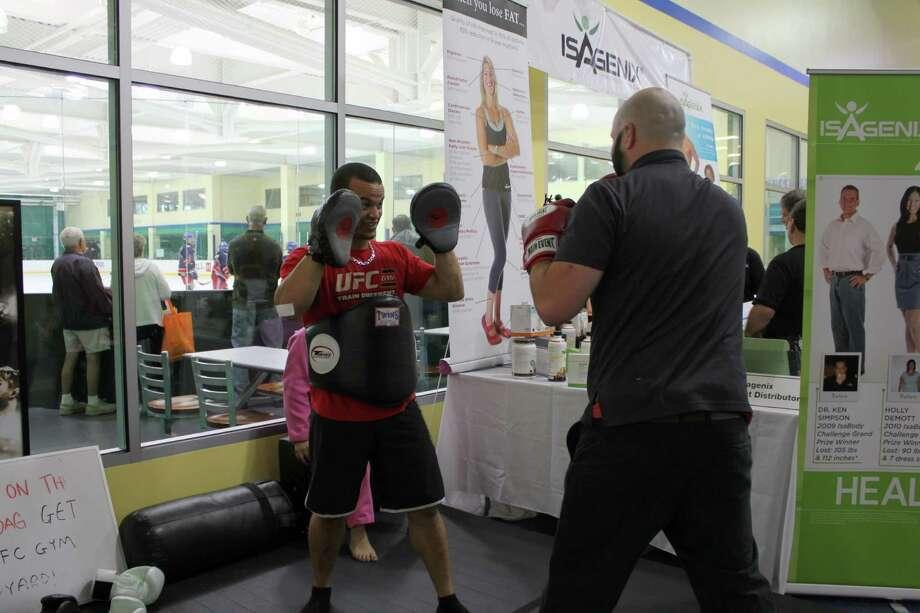 Were you SEEN at Health,Wellness & Sports Expo on Sunday, September 22, 2013 Photo: Picasa, P. Ha-Stevenson / Hearst Connecticut Media Group