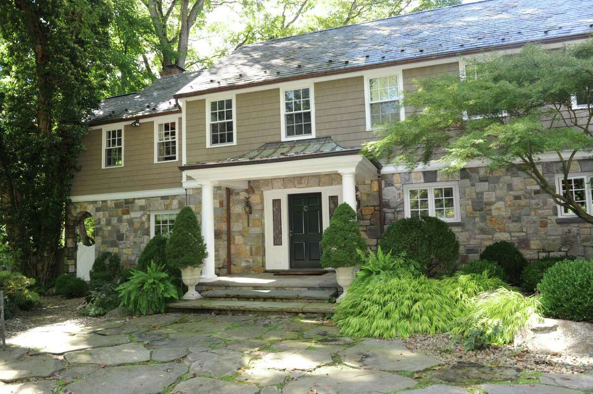 This house at 297 Round Hill Road, is one of several on the market in what is shaping up to be an active fall real estate season.