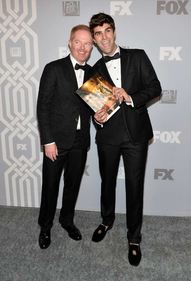 Actor Jesse Tyler Ferguson and Justin Mikita attend the FOX Broadcasting Company, Twentieth Century FOX Television and FX Post Emmy Party at Soleto on September 22, 2013 in Los Angeles, California.  (Photo by Alberto E. Rodriguez/Getty Images) Photo: Alberto E. Rodriguez, Getty Images