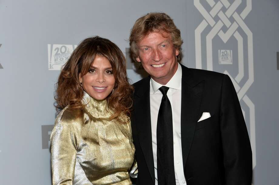 Singer Paula Abdul and director Nigel Lythgoe attend the FOX Broadcasting Company, Twentieth Century FOX Television and FX Post Emmy Party at Soleto on September 22, 2013 in Los Angeles, California.  (Photo by Alberto E. Rodriguez/Getty Images) Photo: Alberto E. Rodriguez, Getty Images