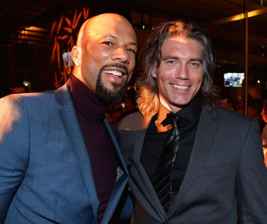 Actors Common and Anson Mount attends the AMC, IFC and Sundance Channel Emmy After Party at BOA Steakhouse on September 22, 2013 in West Hollywood, California.  (Photo by Frazer Harrison/Getty Images) Photo: Frazer Harrison, Getty Images