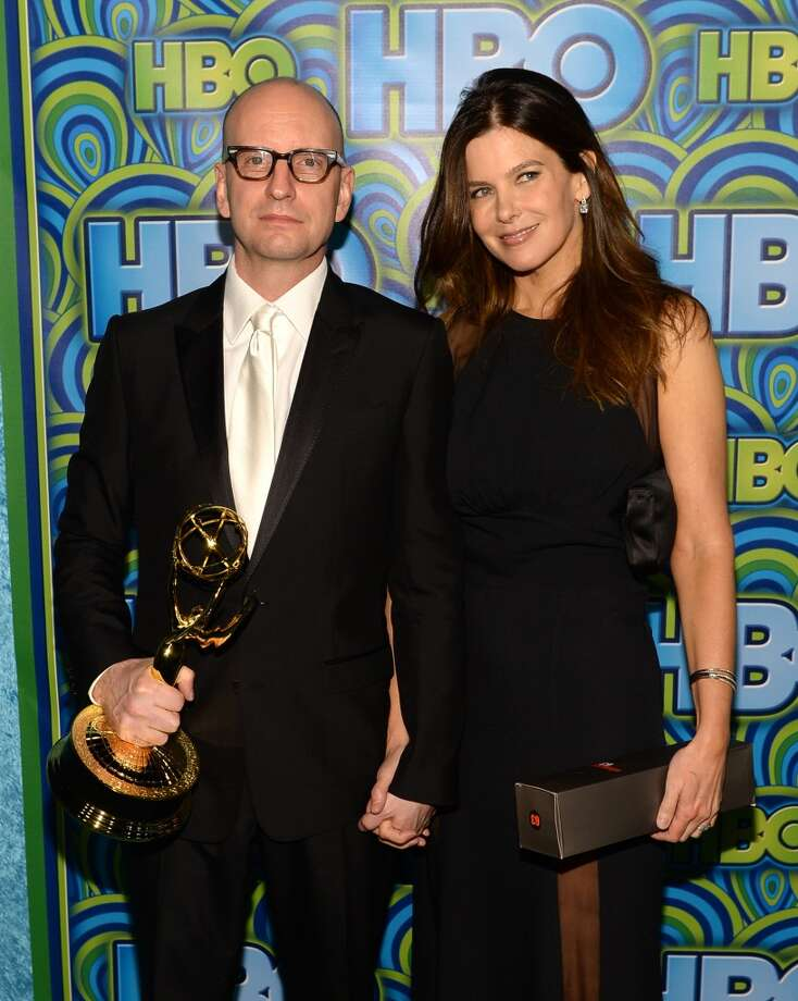 Director Steven Soderbergh (L) and Jules Asner attend HBO's Annual Primetime Emmy Awards Post Award Reception at The Plaza at the Pacific Design Center on September 22, 2013 in Los Angeles, California.  (Photo by Michael Buckner/Getty Images) Photo: Michael Buckner, Getty Images