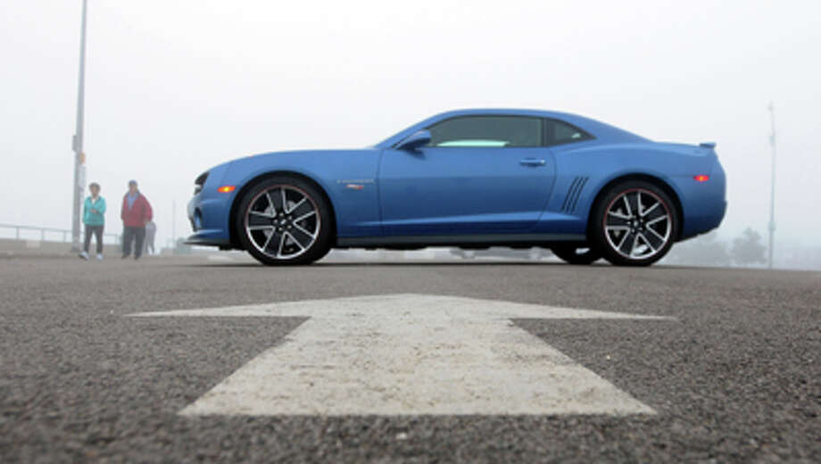 Model: 2013 Chevrolet Camaro SSSpeed: 5.1 secondsStarting price: $32,635Source: Consumer Reports Photo: Jim Mahoney