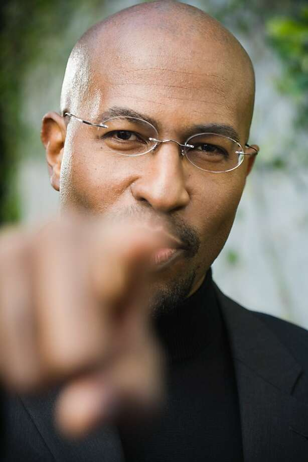 """Van Jones, now co-host of CNN's """"Crossfire,"""" led the Bay Area police watchdog group Bay Area Police Watch in the 1990s. Photo: Mitch Tobias, Getty Images"""