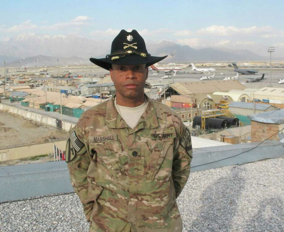 Lt. Col. Lyndon Marshall is a force management officer for U.S. Army North. Photo: Courtesy