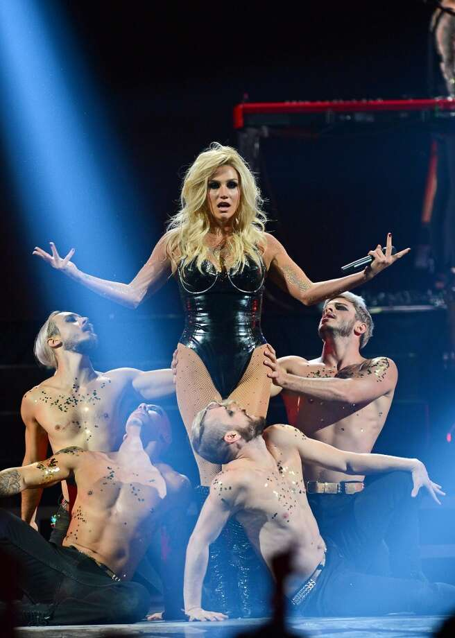 Singer Ke$ha performs during the iHeartRadio Music Festival at the MGM Grand Garden Arena on September 21, 2013 in Las Vegas, Nevada.  (Photo by Ethan Miller/Getty Images for Clear Channel) Photo: Ethan Miller, Getty Images For Clear Channel
