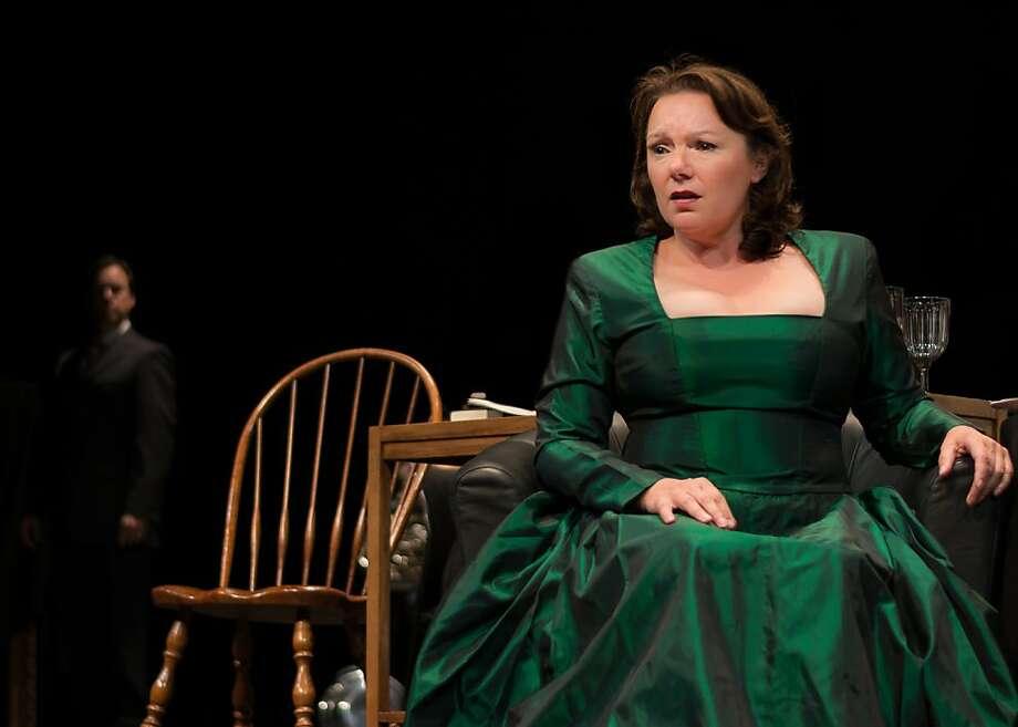 Soprano Marie Plette makes Vanessa's plight plausible. Photo: Lucas Krech