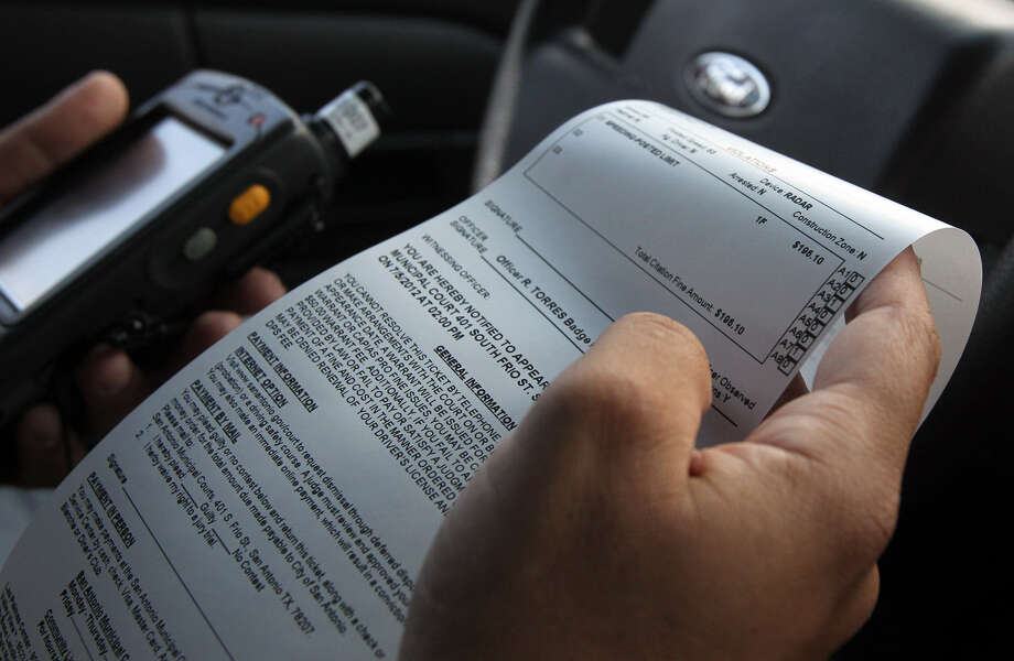 Traffic tickets can ruin more than your day - San Antonio Express-News
