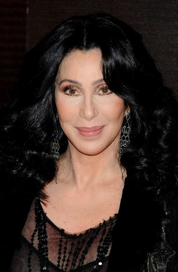 "MADRID, SPAIN - DECEMBER 09:  Cher attends ""Burlesque"" premiere at Callao cinema on December 9, 2010 in Madrid, Spain.  (Photo by Carlos Alvarez/Getty Images) Photo: Carlos Alvarez, Getty Images"