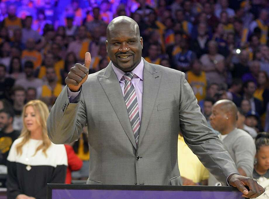 Shaquille O'Neal Photo: Mark J. Terrill, Associated Press