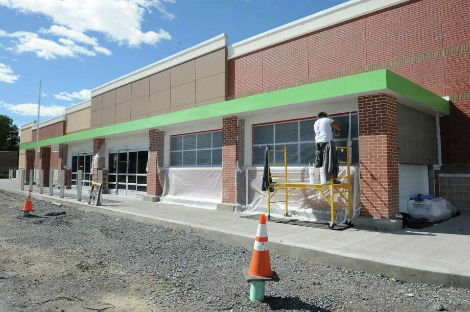 The construction on a Walmart Neighborhood Market is nearing completion  Monday, Sept. 23, 2013, at State St. and Balltown Road in Niskayuna, N.Y.  (Lori Van Buren / Times Union) Photo: Lori Van Buren / 00023962A