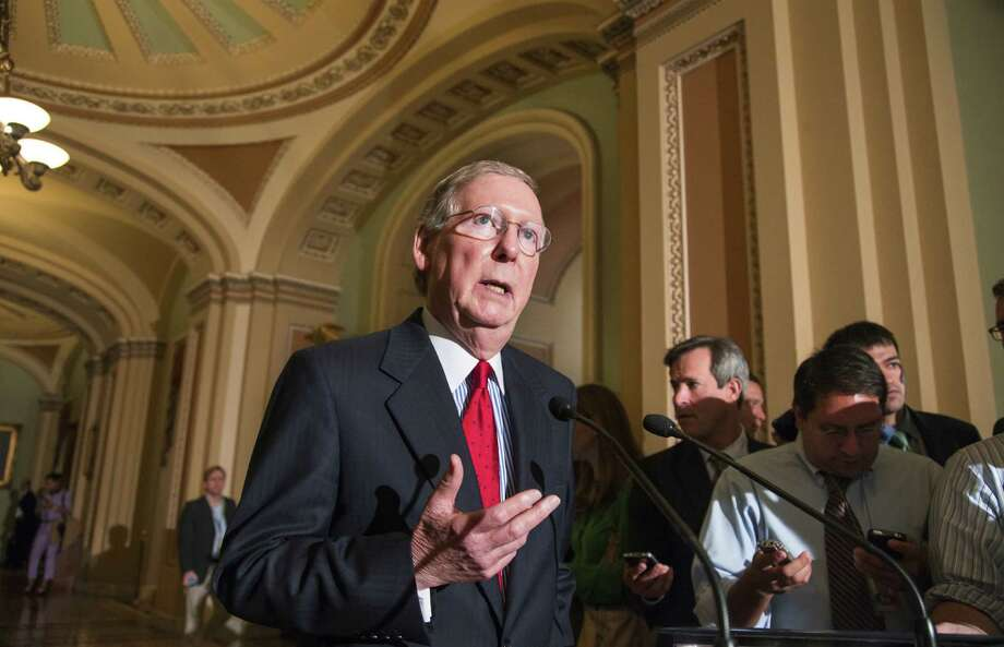 Senate Minority Leader Mitch McConnell will vote against attempts to fund Obamacare.