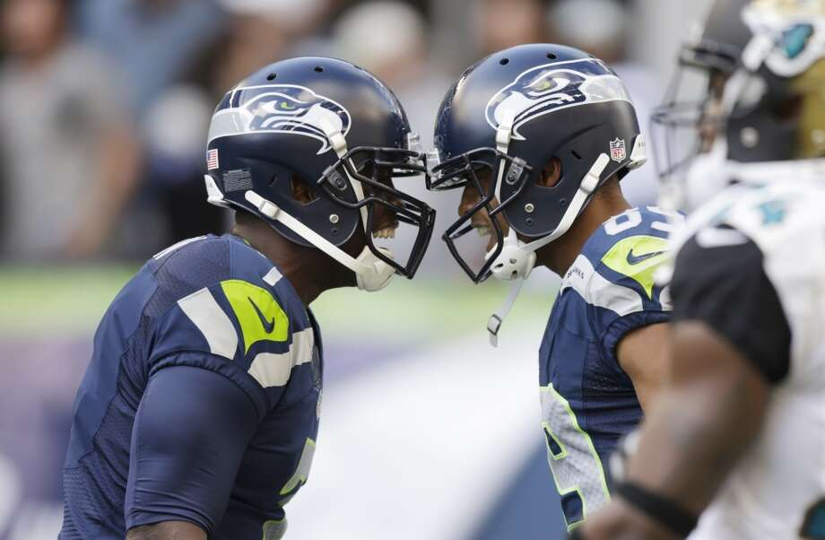 15 crazy facts about the Seahawks (so far)Yes, we know the NFL season is only three weeks old, and many things can change over 17 weeks. That said, it has taken the Seahawks just three weeks to put up some amazing statistics this season. Here are 15 crazy facts about the surging Seahawks so far this year. Photo: Stephen Brashear, Associated Press