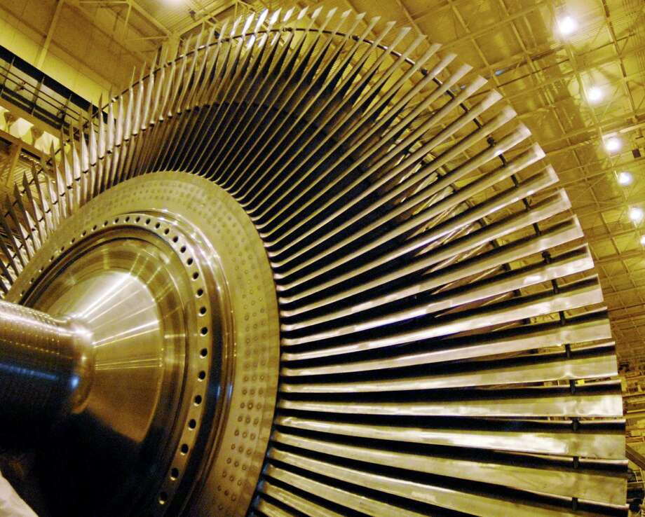 Steam turbines are assembled Friday, Sept. 15, 2006, at General Electric in Schenectady, N.Y. (Will Waldron / Times Union archive) Photo: WW / ALBANY TIMES UNION