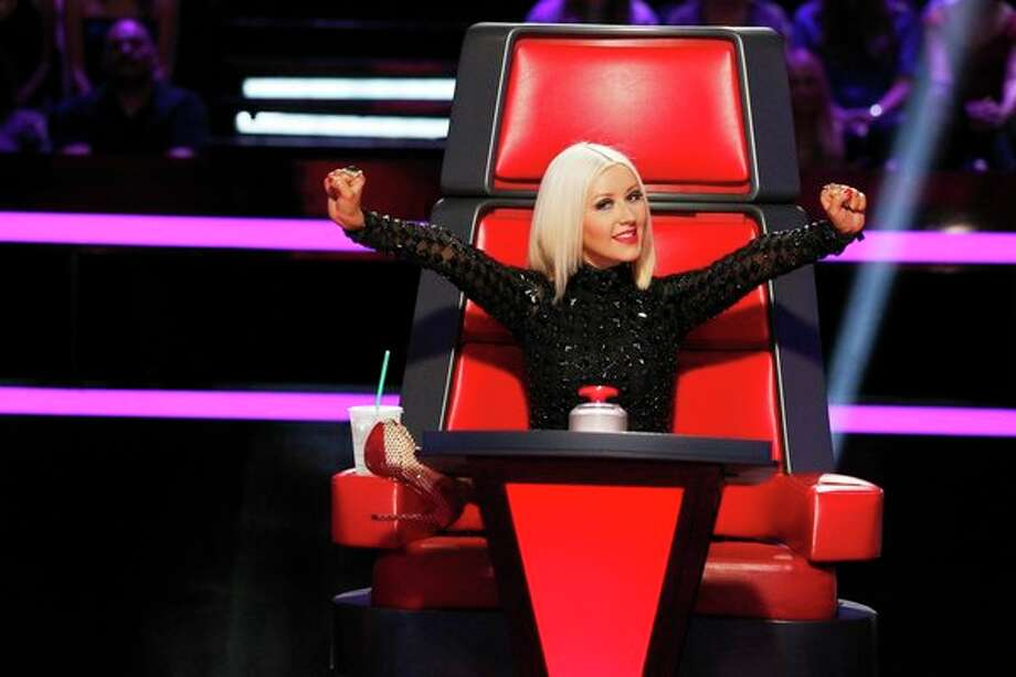 "THE VOICE -- ""Blind Auditions"" -- Pictured: Christina Aguilera -- (Photo by: Trae Patton/NBC) Photo: NBC, Trae Patton/NBC / 2013 NBCUniversal Media, LLC"