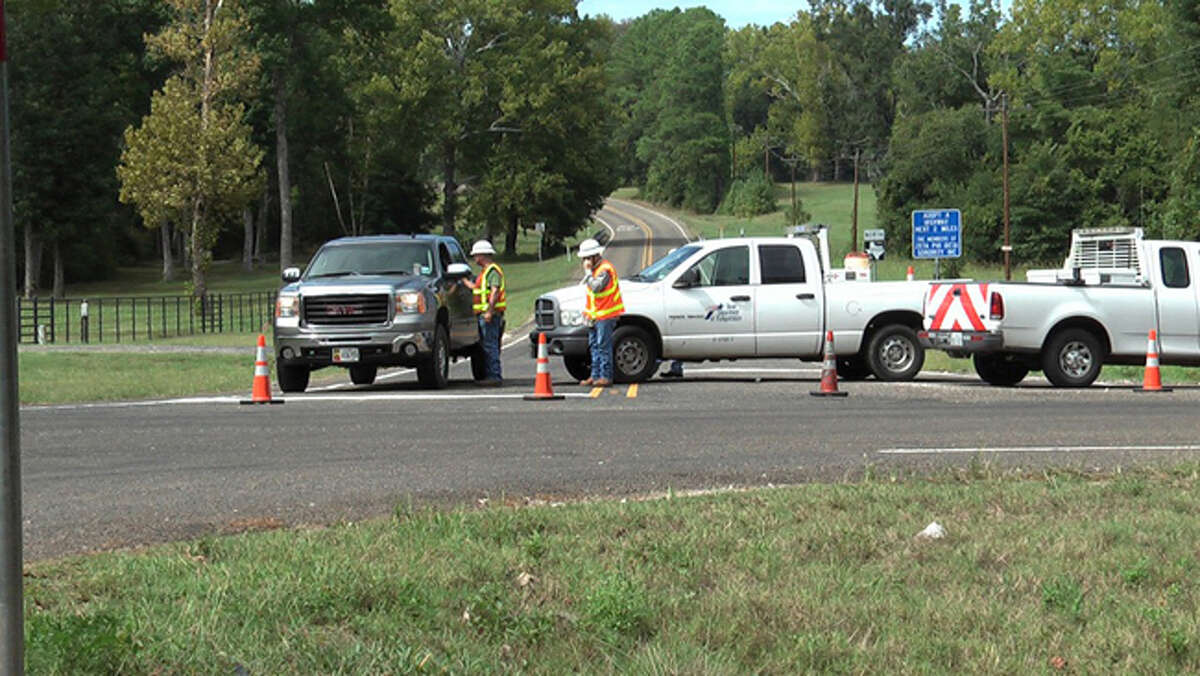 The 911 call came in about 11:20 a.m. Monday and directed authorities to the scene off FM 2929 at Four Notch Road, Montgomery County Police Reporter says in a story on its website.