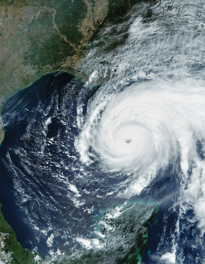 Satellite image of Hurricane Rita.