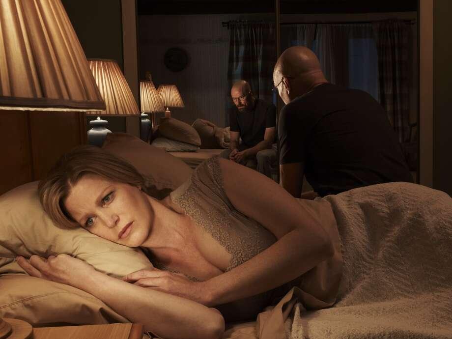 Skyler White (Anna Gunn) and Walter White (Bryan Cranston) - Breaking Bad - Gallery - Photo Credit: Frank Ockenfels/AMC Photo: Frank Ockenfels/AMC