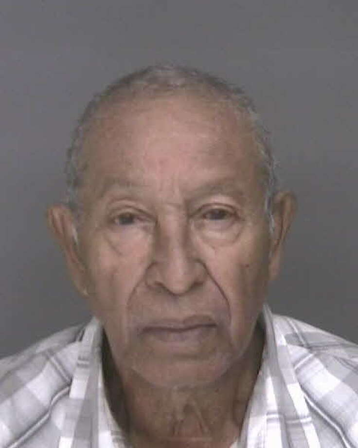 Joseph Livramento, an 84-year-old Cape Verdean, nabbed by police when he came back to see his eye doctor after being on the run for six years for allegedly raping a 7-year-old local girl, pleaded not guilty to sexual assault charges on Tuesday, Sept. 24, 2013. Photo: Bridgeport Police Department
