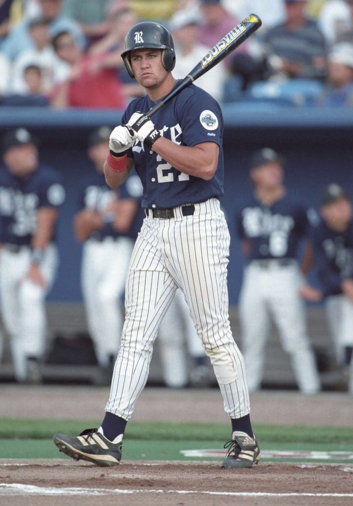 College During his college days at Rice, Berkman was named the 1997 National College Player of the Year and helped lead the Owls to their first College World Series appearance in 1997.
