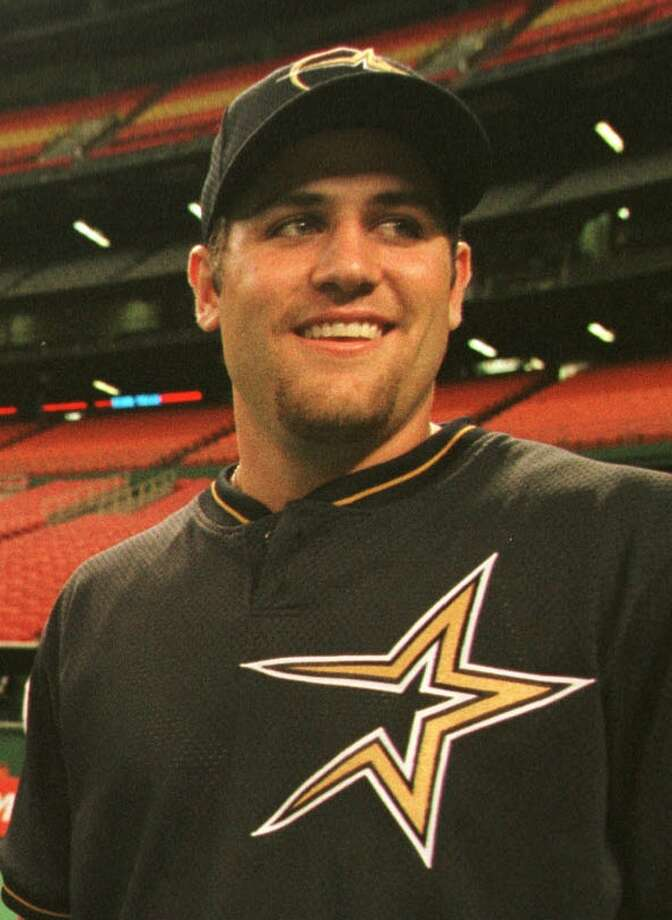 1999 seasonThe Astros selected Berkman with 16th overall pick in the 1997 draft. He made his MLB debut for the team on June 16, 1999. In 34 games, he hit 237 with four homers and 15 RBI. Photo: Kerwin Plevka, Houston Chronicle