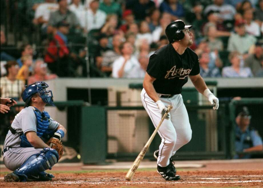 2000 seasonBerkman played in 114 games, batting .297 with 21 home runs and 67 RBIs. He finished sixth in the National League Rookie of the Year voting. Photo: Kevin Fujii, Houston Chronicle