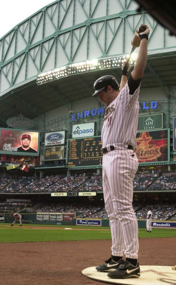2001 season  In Berkman's first full season, he makes the first of five National League All-Star teams. He finished the season with a .331 average, 34 home runs and 126 RBIs. Photo: Smiley N. Pool, Houston Chronicle