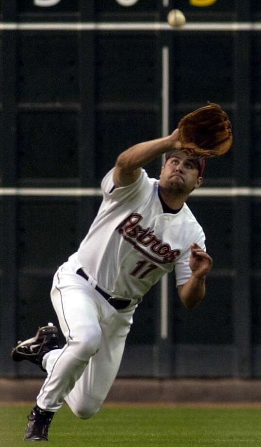 2003 seasonBerkman's production slipped, as he hit only .288 and finished with 25 home runs and 93 RBIs. Photo: Christobal Perez, Houston Chronicle