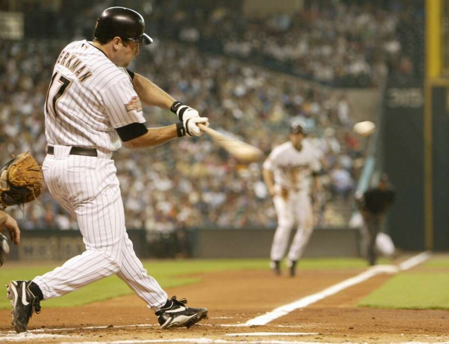 2004 seasonBerkman bats .316 with 30 homers and 106 RBIs and makes his third All-Star Game appearance. Photo: Kevin Fujii, Houston Chronicle