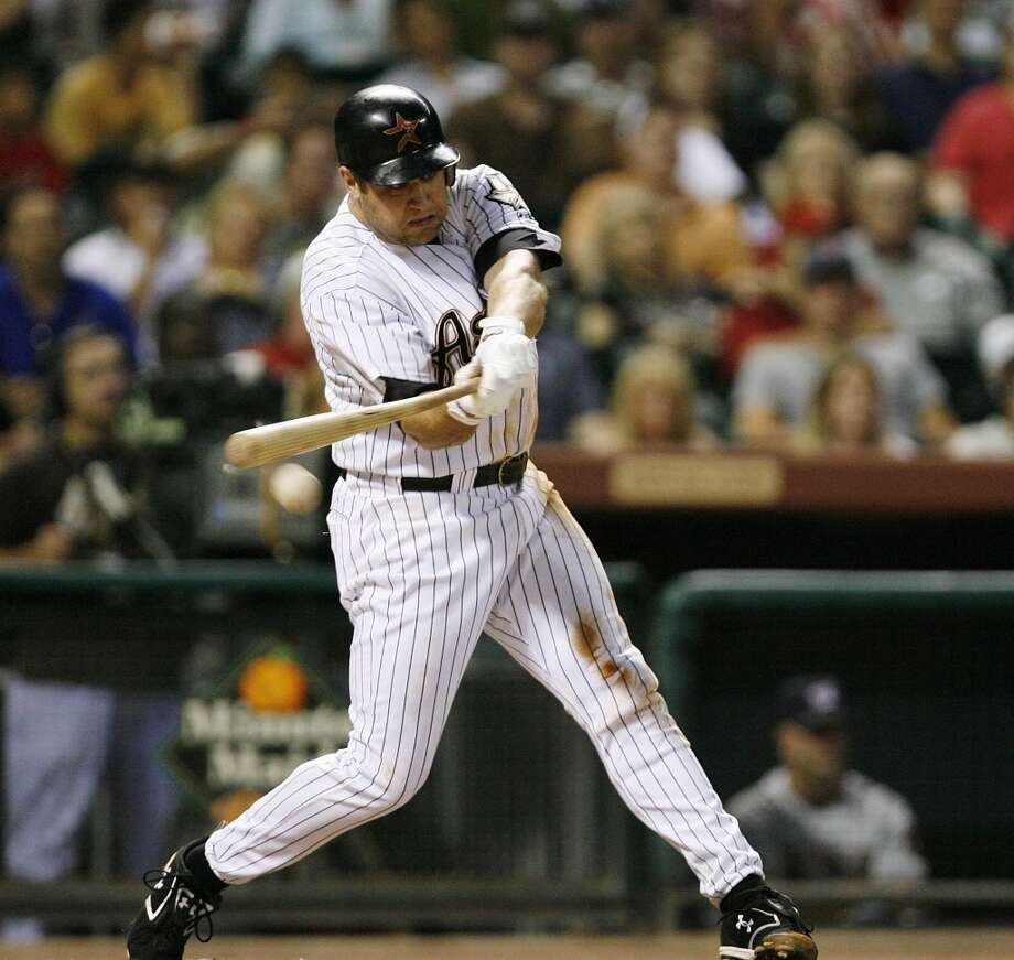 2007 seasonBerkman finished the season with a .278 average, 34 home runs and 102 RBIs. Photo: Billy Smith II, Houston Chronicle