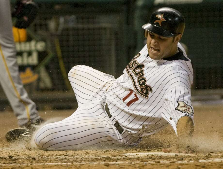 2008 seasonBerkman finished the season with a league-high 46 doubles, 29 home runs and 106 RBIs. He was named to his fifth All-Star team and finished fifth in the National League MVP voting. Photo: Steve Campbell, Houston Chronicle