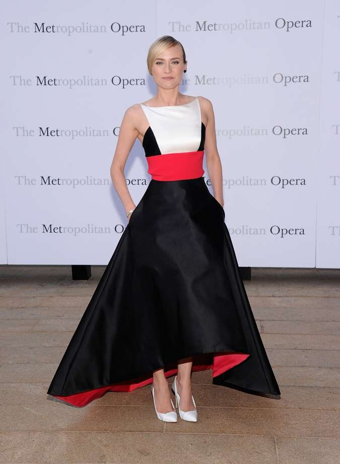 "Diane Kruger attends the Metropolitan Opera Season Opening Production Of ""Eugene Onegin"" at The Metropolitan Opera House on September 23, 2013 in New York City.  (Photo by Jamie McCarthy/Getty Images) Photo: Jamie McCarthy, Getty Images"