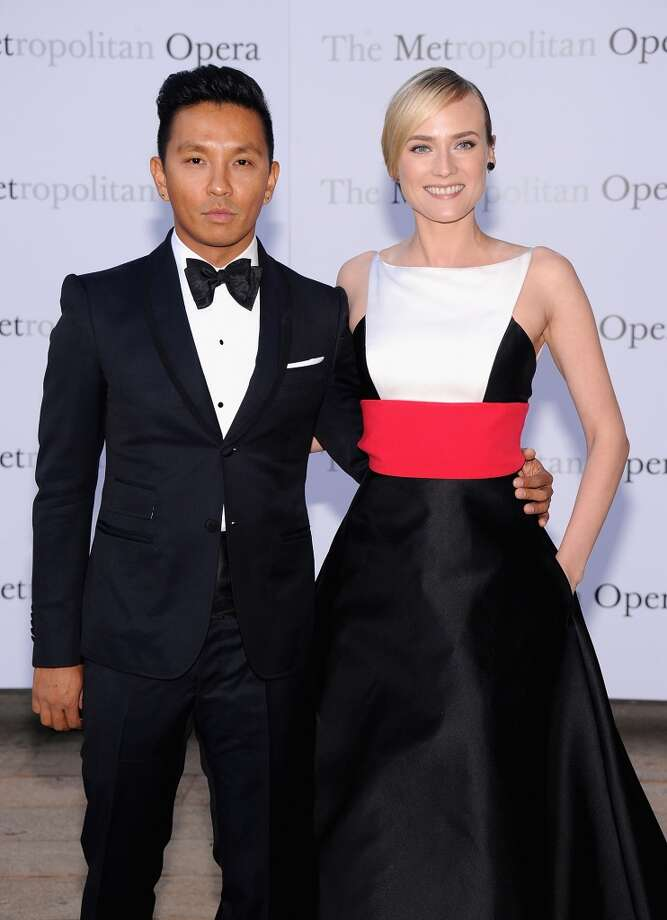 "Prabal Gurung and Diane Kruger attend the Metropolitan Opera Season Opening Production Of ""Eugene Onegin"" at The Metropolitan Opera House on September 23, 2013 in New York City.  (Photo by Jamie McCarthy/Getty Images) Photo: Jamie McCarthy, Getty Images"