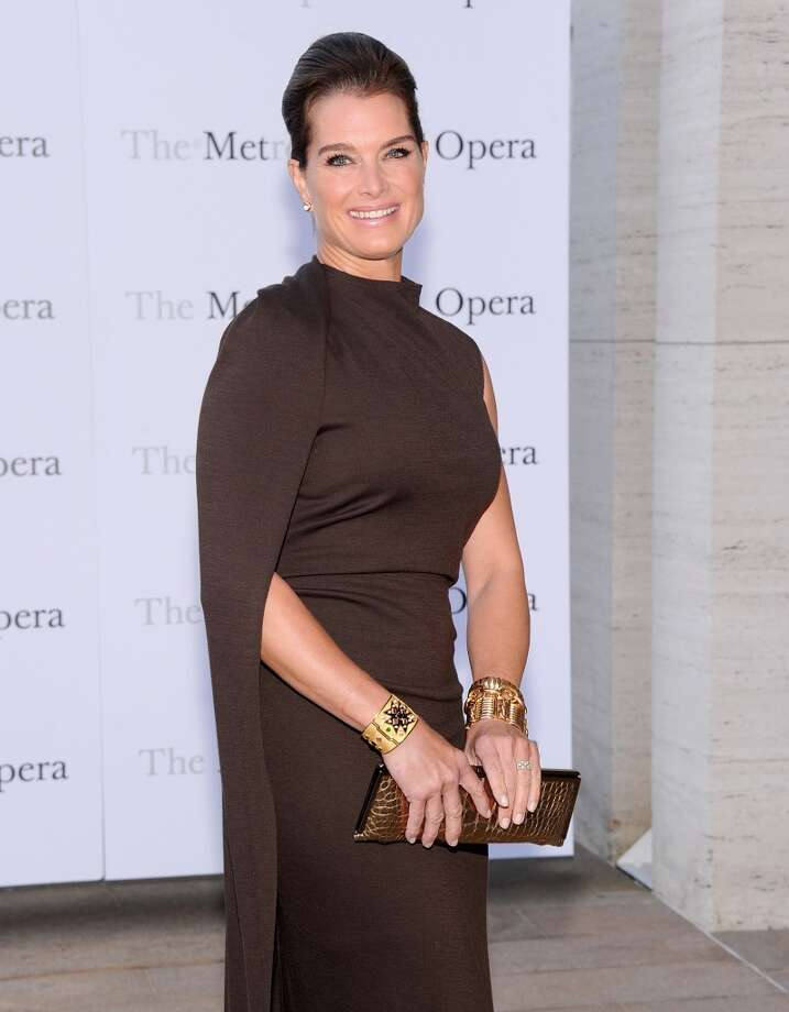 "Brooke Shields attends the Metropolitan Opera Season Opening Production Of ""Eugene Onegin"" at The Metropolitan Opera House on September 23, 2013 in New York City.  (Photo by Jamie McCarthy/Getty Images) Photo: Jamie McCarthy, Getty Images"