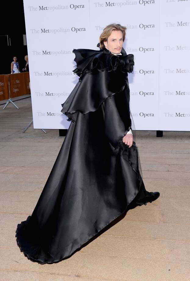 """Austin Scarlet attends the Metropolitan Opera Season Opening Production Of """"Eugene Onegin"""" at The Metropolitan Opera House on September 23, 2013 in New York City.  (Photo by Jamie McCarthy/Getty Images) Photo: Jamie McCarthy, Getty Images"""