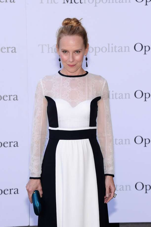 "Amy Ryan attends the Metropolitan Opera Season Opening Production Of ""Eugene Onegin"" at The Metropolitan Opera House on September 23, 2013 in New York City.  (Photo by Jamie McCarthy/Getty Images) Photo: Jamie McCarthy, Getty Images"