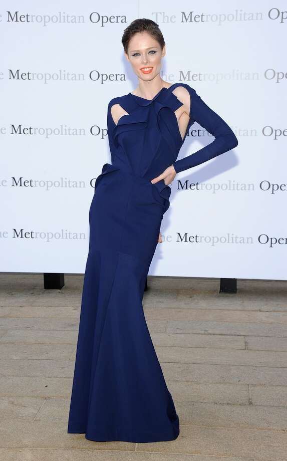 "Coco Rocha attends the Metropolitan Opera Season Opening Production Of ""Eugene Onegin"" at The Metropolitan Opera House on September 23, 2013 in New York City.  (Photo by Jamie McCarthy/Getty Images) Photo: Jamie McCarthy, Getty Images"