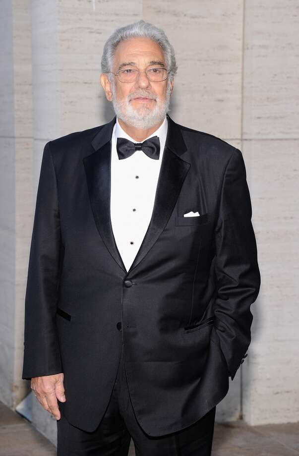 "Plácido Domingo attends the Metropolitan Opera Season Opening Production Of ""Eugene Onegin"" at The Metropolitan Opera House on September 23, 2013 in New York City.  (Photo by Jamie McCarthy/Getty Images) Photo: Jamie McCarthy, Getty Images"