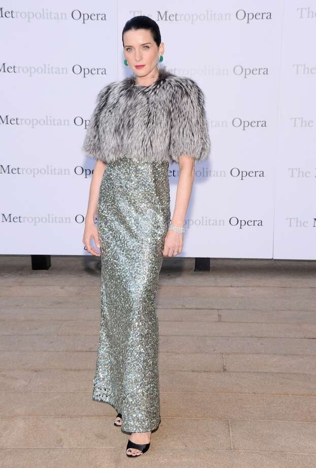 "Michele Hicks attends the Metropolitan Opera Season Opening Production Of ""Eugene Onegin"" at The Metropolitan Opera House on September 23, 2013 in New York City.  (Photo by Jamie McCarthy/Getty Images) Photo: Jamie McCarthy, Getty Images"
