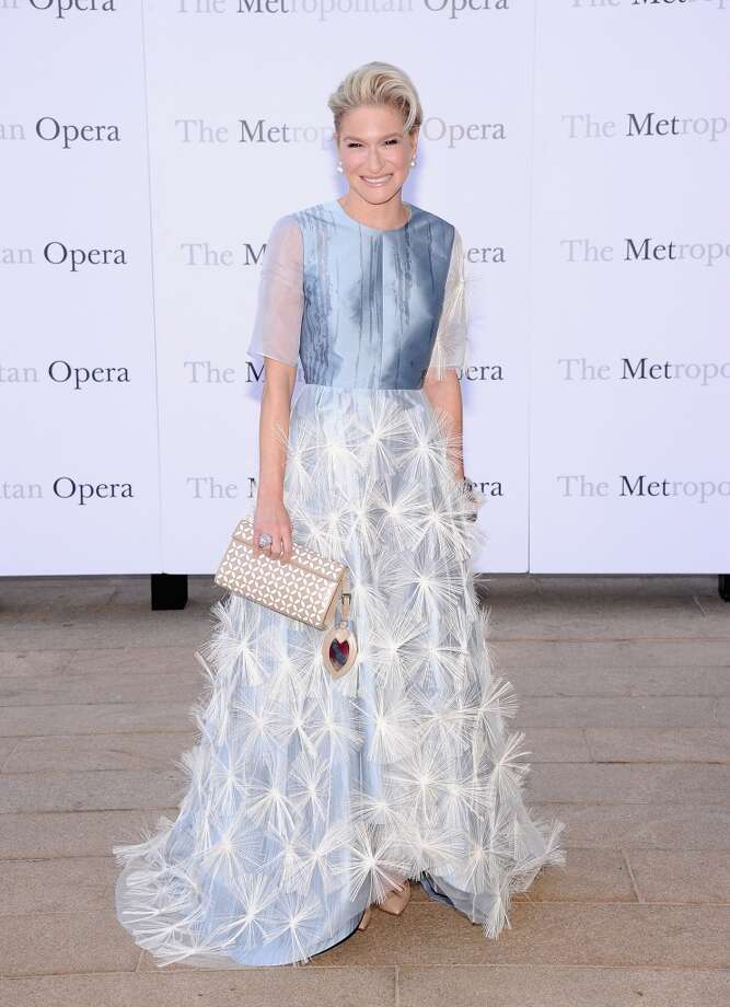 "Julie Macklowe attends the Metropolitan Opera Season Opening Production Of ""Eugene Onegin"" at The Metropolitan Opera House on September 23, 2013 in New York City.  (Photo by Jamie McCarthy/Getty Images) Photo: Jamie McCarthy, Getty Images"