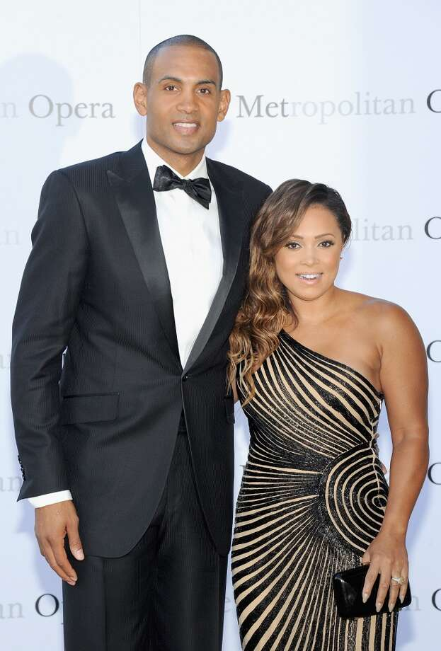 "Grant Hill and Tamia attend the Metropolitan Opera Season Opening Production Of ""Eugene Onegin"" at The Metropolitan Opera House on September 23, 2013 in New York City.  (Photo by Jamie McCarthy/Getty Images) Photo: Jamie McCarthy, Getty Images"