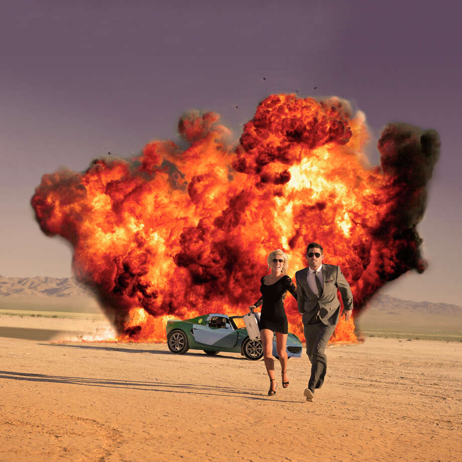 OK, so this one has nothing to do with saving you money, but it is a scene in almost every action movie. MythBusters tackled this idea in 2004, and found it only slightly possible if a flaming bullet was used. Photo: Getty Images / (c) Keith Wright