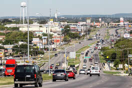 View of Bandera Road in Leon Valley on Monday, Sept. 23, 2011.  Photo by Marvin Pfeiffer / Prime Time Newspapers