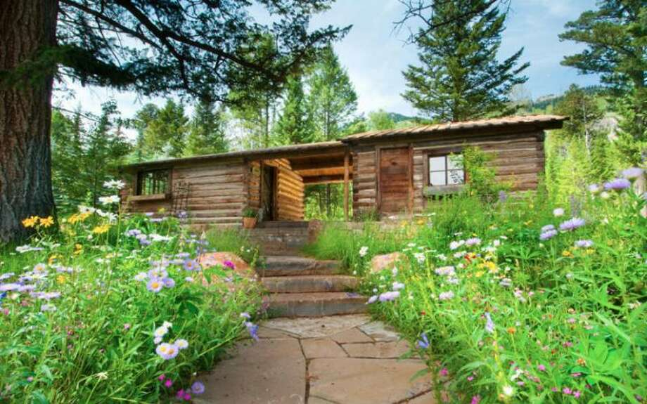 Exterior cabin. All photos via Prugh Real Estate, Jackson Hole, WY Photo: Http://www.prughrealestate.com/properties/6895-n-bowman-rd-teton-village-wy-83025