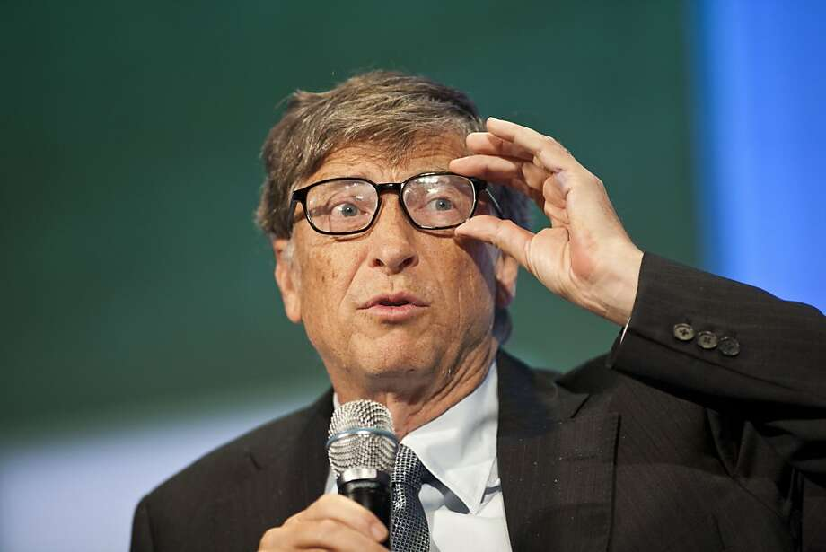 6. Bill Gates,chairman and founder of Microsoft Corp. Photo: Ramin Talaie, Getty Images