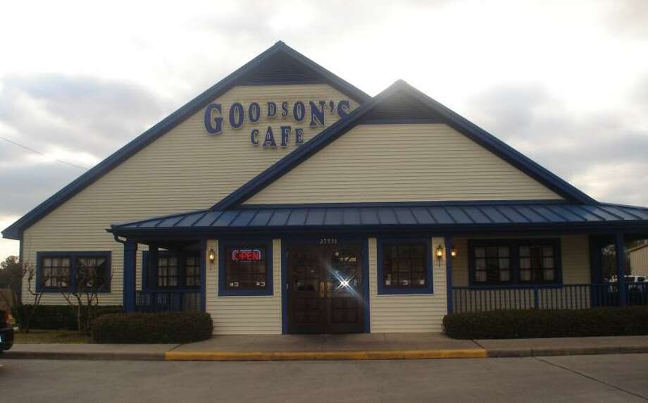 Goodson's Cafe: (Tomball) If you are a lover of chicken fried steak,  you have to stop by Goodson's at least once. They serve chicken fried steaks that spill over the place. Sure, your clothes may fit a bit tighter when you leave this classic cafe, but you will be full of fried joy.Address: 27931 SH 249Phone: 281-351-1749 Photo: Goodsons Cafe