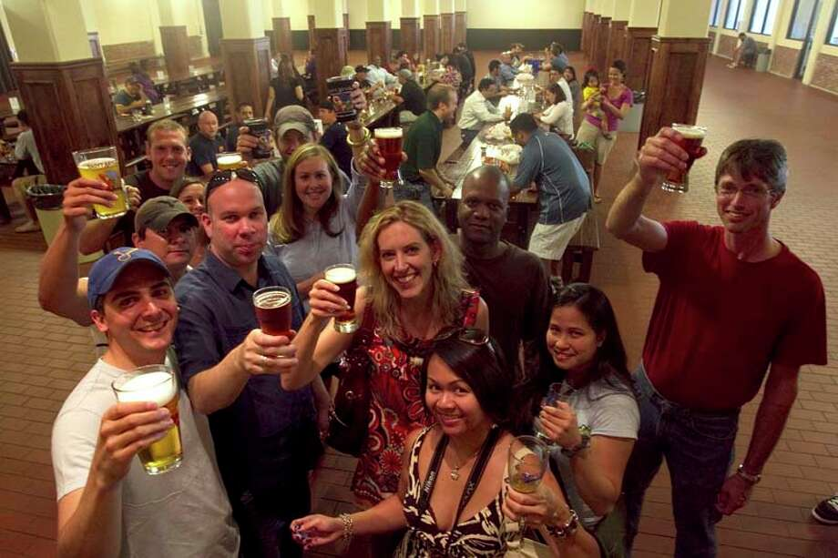 Oktoberfest beers Photo: Johnny Hanson, Houston Chronicle / Houston Chronicle