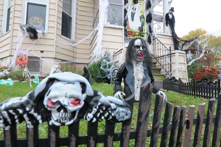Halloween decorations are coming out Photo: Paul Buckowski, Albany Times Union / ONLINE_YES